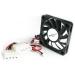 StarTech.com FAN5X1TX3 ventilador de PC Carcasa del ordenador 5 cm Negro
