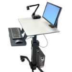 Ergotron TeachWell MDW Multimedia cart Graphite