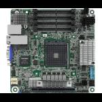 Asrock X570D4I-2T server/workstation motherboard Mini ITX AMD X570