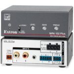 Extron MPA 152 Plus audio amplifier Black