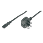 ASSMANN Electronic AK-440116-018-S power cable Black 1.8 m Power plug type G C7 coupler