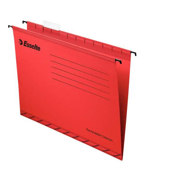 Esselte Pendaflex Economy Suspension File Foolscap Red 25-pk