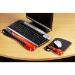 Kensington Duo Gel Keyboard Wrist Rest — Red
