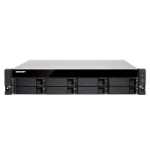 QNAP TS-877XU-RP NAS Rack (2U) Ethernet LAN Black 1200
