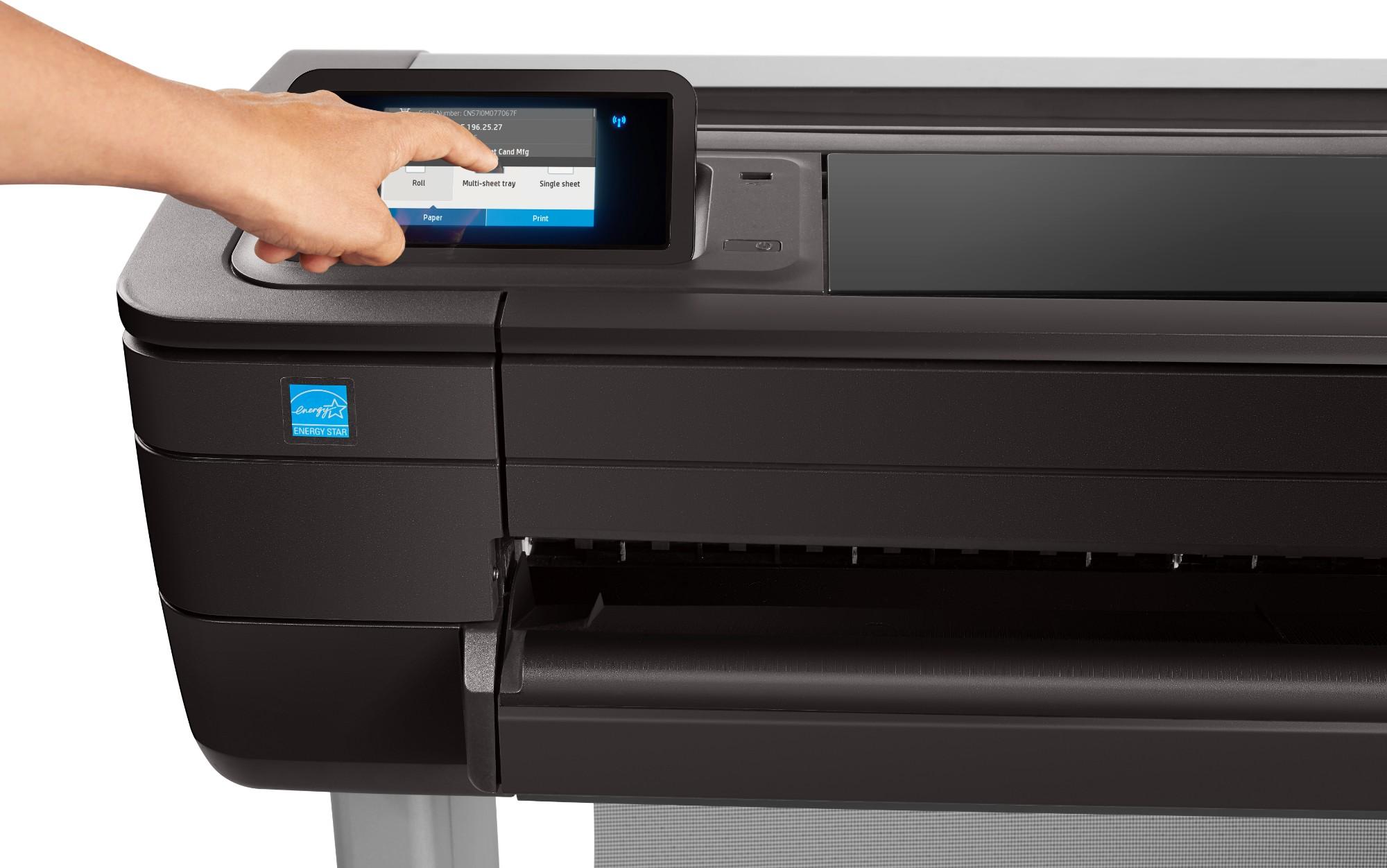 HP Designjet T730 36-in large format printer Colour 2400 x 1200 DPI Thermal inkjet A0 (841 x 1189 mm) Wi-Fi