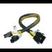 Akasa PSU extension cable splits 4+4