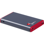 """CRU ToughTech Secure m3 2.5"""" HDD/SSD enclosure Gray, Red"""
