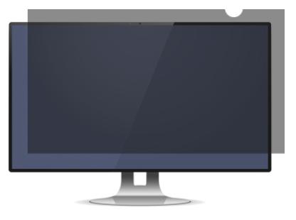 "MicroSpareparts MSPF0040 28"" Monitor Frameless display privacy filter"