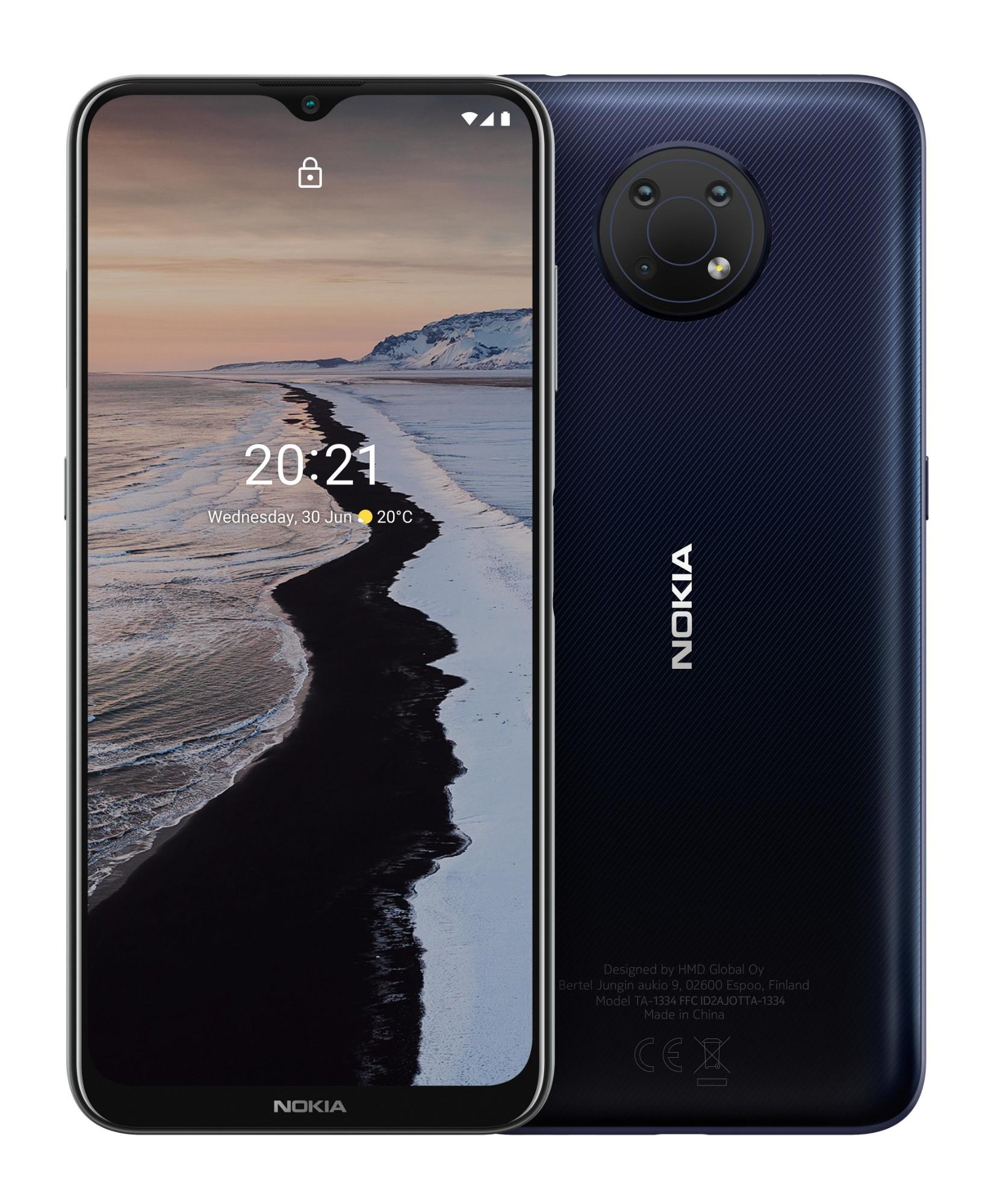 "Nokia G10 16.5 cm (6.5"") Dual SIM Android 11 4G USB Type-C 3 GB 32 GB 5050 mAh Blue"