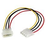 "StarTech.com LP4POWEXT12 internal power cable 12"" (0.304 m)"