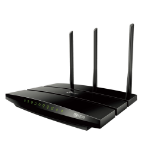 TP-LINK AC1200 wireless router Dual-band (2.4 GHz / 5 GHz) Gigabit Ethernet Black