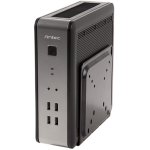 Antec ISK 110 VESA-UK Mini-Tower 90W Silver