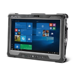 Getac A140 256GB 3G 4G Black 6th gen Intel® Core™ i7 i7-6500U tablet