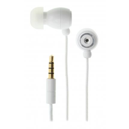 Kitsound KS1WH mobile headset Binaural In-ear White Wired