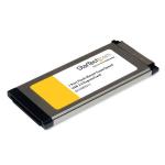 StarTech.com 1-poorts verzonken gemonteerde ExpressCard SuperSpeed USB 3.0 kaartadapter met UASP-ondersteuning