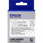Epson C53S655009 (LK-5TWN) Ribbon, 18mm x 9m