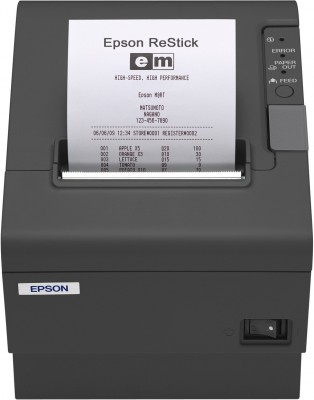 Epson TM-T88IV ReStick (356): Serial, PS, EDG, 58mm, Buzzer, EU