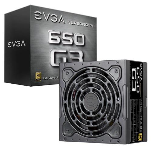 EVGA SuperNOVA 650 G3 power supply unit 650 W 24-pin ATX Black
