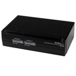 StarTech.com 2 Port DVI USB KVM Switch with Audio and USB 2.0 Hub