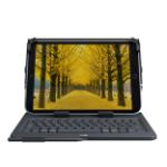 Logitech Universal Folio toetsenbord voor mobiel apparaat Zwart AZERTY Frans Bluetooth