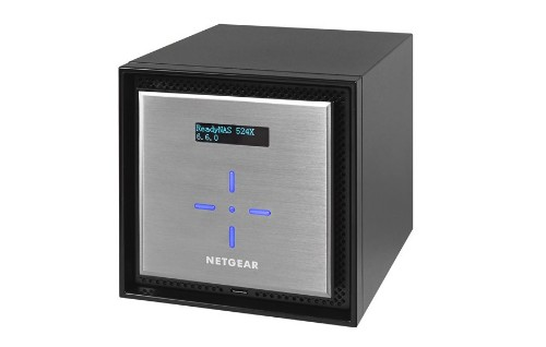 Netgear ReadyNAS 524X Ethernet LAN Mini Tower Black,Silver NAS