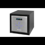Netgear ReadyNAS 524X Mini Tower Ethernet LAN Black, Silver