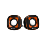 Canyon CNS-CSP202BO loudspeaker 1-way 6 W Black,Orange Wired 3.5 mm