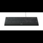 Logitech K280e keyboard USB QWERTY US International Black 920-005217