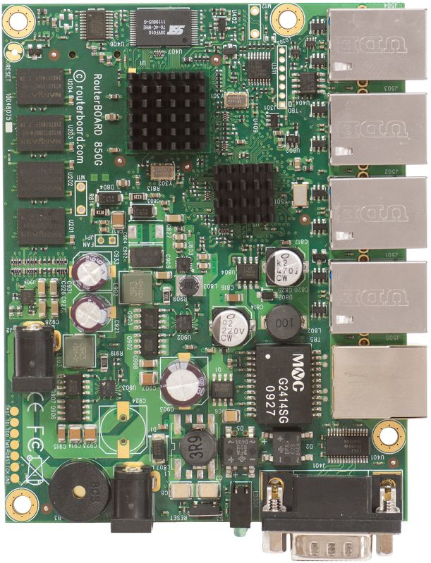 Mikrotik RB850GX2 router motherboard