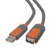 Belkin CU1100CP4.8M cable USB 4,8 m USB 2.0 USB A Gris