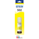 EPSON ECOTANK T502 YELLOW INK BOTTLE ECO TANK ET-2700 ET-2750 ET-3700 ET-4750