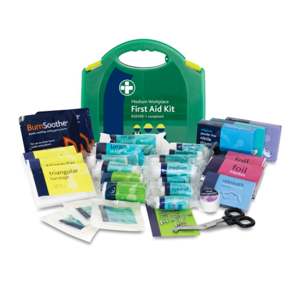Reliance Medical Reliance Medium First Aid Kit in Integral Aura Box BS8599-1