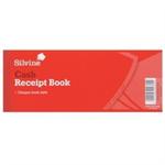 Silvine RECEIPT BOOK 3X8 C/FOIL 233