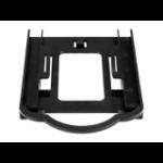 "StarTech.com BRACKET125PTP drive bay panel 3.5"" Carrier panel Black"