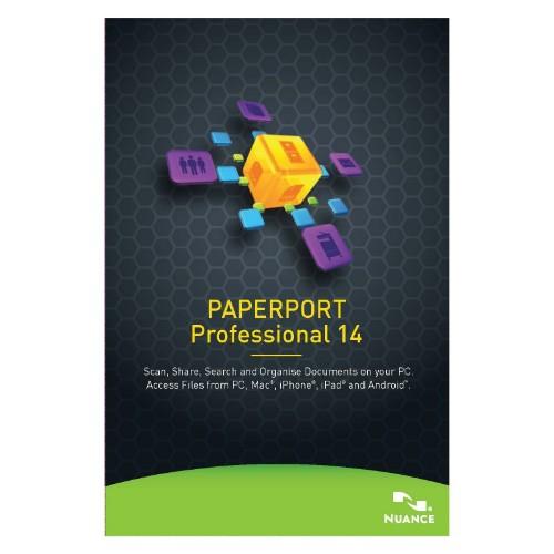 Nuance PaperPort Professional 14, 251-500u, 1y, WIN, MNT, EDU, FRE