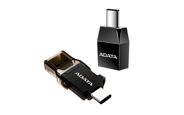 ADATA ACAF3PL-ADP-RBK USB C USB 3.1 A Black cable interface/gender adapter