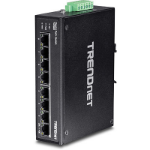 Trendnet TI-PG80 Unmanaged network switch L2 Gigabit Ethernet (10/100/1000) Power over Ethernet (PoE) Black network switch