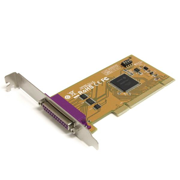 StarTech.com 1 Port PCI Parallel Adapter Card with Re-mappable Address