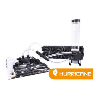 Alphacool Eissturm Hurricane Copper 360mm Water Cooling Kit - Complete Kit