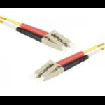 EXC 390830 fibre optic cable 2 m LSZH OM1 SC/UPC LC/UPC Orange