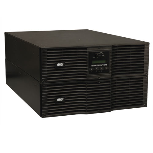 Tripp Lite SmartOnline 200-240V 10kVA 9kW On-Line Double-Conversion UPS, Extended Run, SNMP, Webcard, 6U Rack/Tower, C19 Outlets