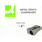 Q-CONNECT KF02218 pencil sharpener Manual pencil sharpener Metallic