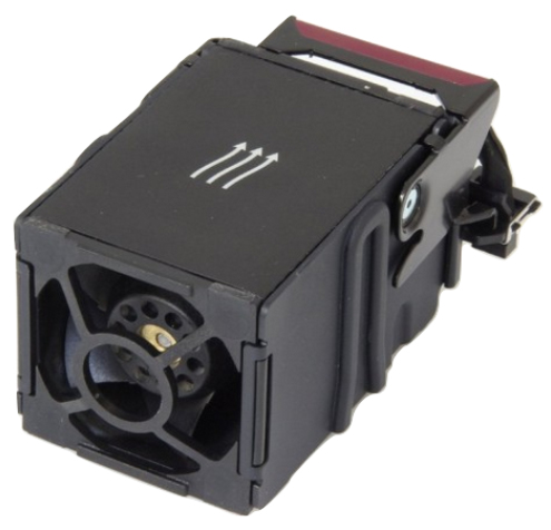 HP 667882-001 Computer case Fan Black