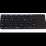 Acteck SKP-500 USB QWERTY Inglés Negro