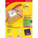 Avery BlockOut Shipping Labels White 1000pc(s) self-adhesive label