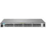 Hewlett Packard Enterprise 2530-48G-PoE+-2SFP+ Managed network switch L2 Gigabit Ethernet (10/100/1000) Power over Ethernet (PoE) Stainless steel