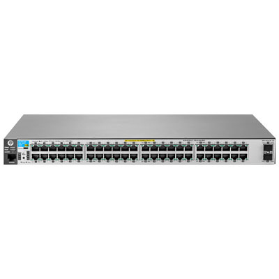 Hewlett Packard Enterprise 2530-48G-PoE+-2SFP+ Managed L2 Gigabit Ethernet (10/100/1000) Power over Ethernet (PoE) Stainless steel