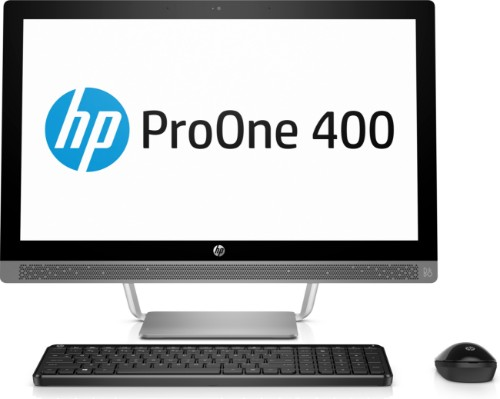 """HP ProOne 440 G3 2.70GHz i5-7500T 23.8"""" 1920 x 1080pixels Silver All-in-One PC"""