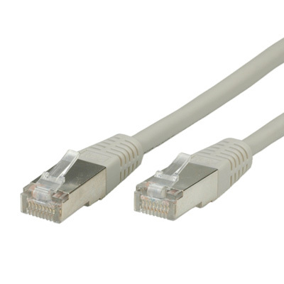 S/FTP (PiMF) PatchCord Cat6. CU. Grey. 1.0m