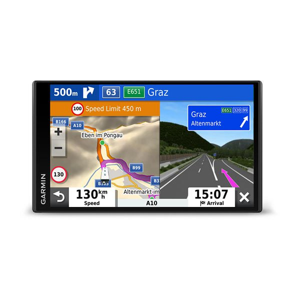 Camper 780 navigator 6.95in Touchscreen TFT Handheld Black